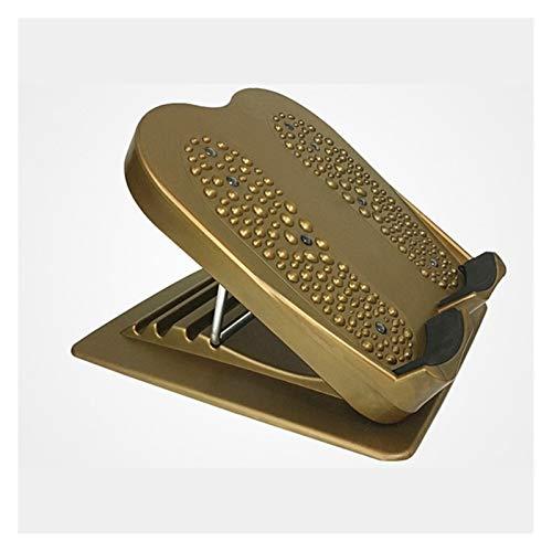 HKD Ajustable Tobillo Pantorrilla Stretch Board Portátil Elástica Tabla Inclinada para isquiotibiales Aquiles Pierna Ejercicio Muscular (Color : Brown)