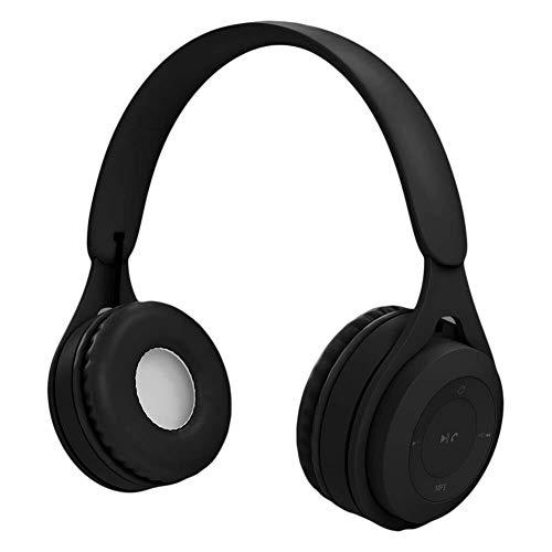 WHSS Bluetooth Headset Bluetooth For Auriculares, Montado En La Cabeza For Auriculares Estéreo De Alta Fidelidad Auricular Inalámbrico Macaron Largo De Auriculares con Micrófono De Oído