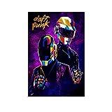 NENBN Daft Punk Leinwand-Kunst-Poster und Wandkunstdruck,