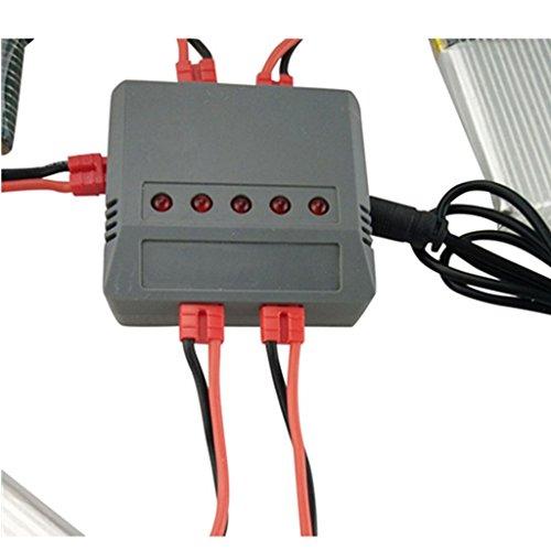 yotijar Adattatore Caricatore USB per Batteria Lipo per Drone QuadcopterX5hw