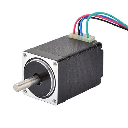 Stepperonline Nema 11 - Motore passo-passo Bipolar 1,8 deg 9,5 Ncm 0,67 A 28 x 45 mm, 4 fili per stampante 3D / fresa CNC