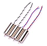 YoungRC 8520 Coreless Motor 8.5 x 20mm Brushed Motors for DIY Micro QX95 QX110 Quadcopter RC Drone