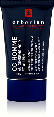 Erborian Korean Skin Therapy Paris Seoul CC Creme for Men