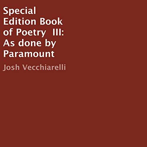 Special Edition Book of Poetry III audiobook cover art