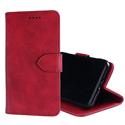 NEKOYA LG V35 ThinQ Hülle,LG V35 ThinQ Lederhülle,Handyhülle im Brieftasche-Stil für LG V35 ThinQ. Schutzhülle mit [Minimalistisches][Standfunktion][Kartenfach][Magnetverschluss]