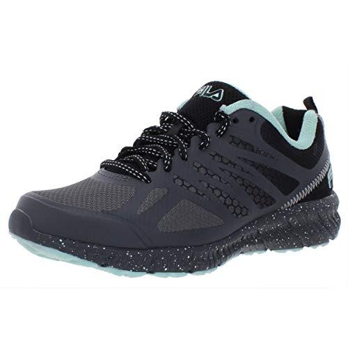 Fila Women's, Speedstride TR Trail Running Sneakers Gray Aqua 8 M