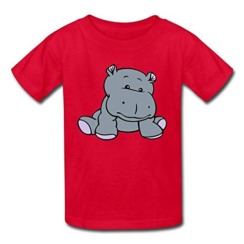 Pmguerxbfhyd Infant Short Sleeve Shirt Hippo Baby for Baby Girl Boys