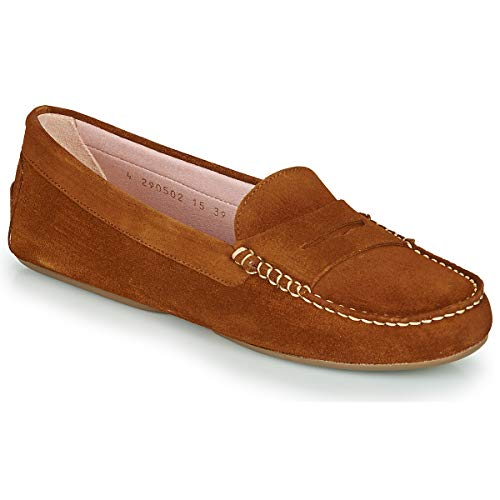 Pretty Ballerinas Microtina Slipper & Bootsschuhe Damen Braun - 36 - Slipper Shoes
