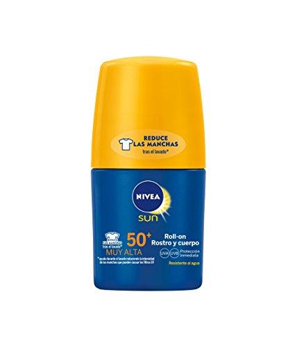NIVEA Sun - Roll On crema solar Hidratante Protege & Hidrata FP50...