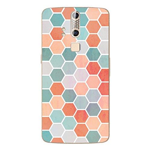 DISAGU SF-106600_1207 Design Folie für ZTE Axon Elite - Motiv Polygone 04