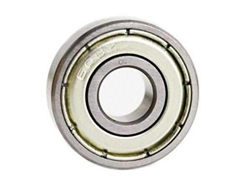 608 ZZ / 608Z Kugellager 8x22x7 mm (= 608 2Z: 22x8x7 mm) - Elektro-Motoren-Qualität Z2/V2 - Präzisionslager ABEC-3