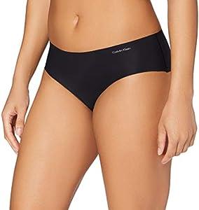 Calvin Klein Hipster Braguita, Negro (Black 001), Large para Mujer