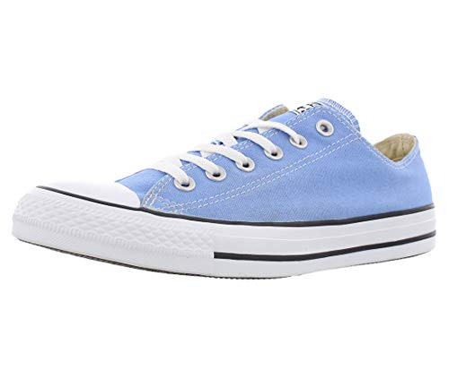 Converse Unisex Chuck Taylor All Star Low Top Pioneer Blue Sneakers - 8 B(M) US Women / 6 D(M) US Men