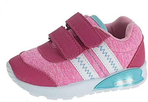 Beppi Unisex Baby Zapatos Sneaker, Rose, 20 EU