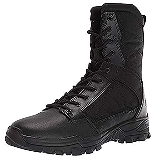5.11 Tactical Men's XPRT 3.9 Waterproof 6-Inch Boots, Easy Polish, Full Grain Leather, Black, 41 EU Wide, Style 12373