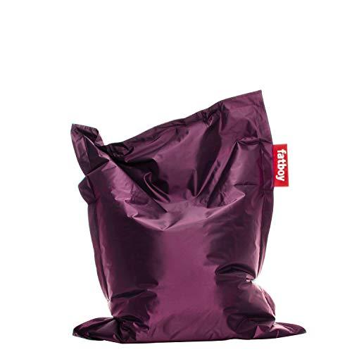 Fatboy® Junior lila | Original Nylon-Sitzsack | Klassisches Indoor Sitzkissen speziell für Kinder | 130 x 100 cm