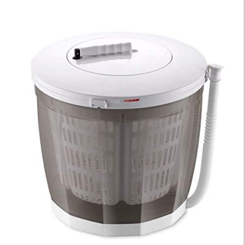 CLOTHES Mini-Waschmaschine, tragbare Öko-Waschmaschine, handbetriebenes Waschen, großes Fassungsvermögen von 2 Litern, Reinigen, Spülen und Schleudern