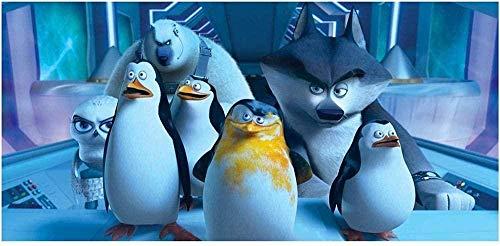 YYTTLL Rompecabezas Pingüinos De Madagascar Rompecabezas Juegos Educativos Decoración del Hogar Rompecabezas De Madera 1000 Piezas