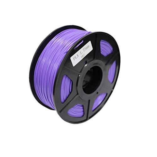 3D Pen ABS Filament Refills 3mm 3D Printing Pen Filament for Kids DIY - Purple, 0.5KG Computer Components