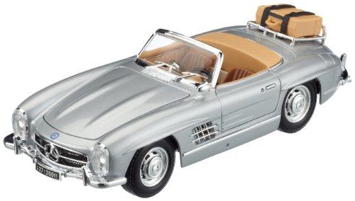 Bburago 12049S - Modelauto 1:18 Mercedes Benz 300 Sl Touring 1957, zilver, voertuigen