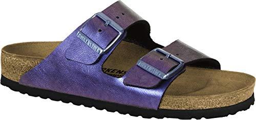 Birkenstock Arizona, Scarpe da ginnastica per casa con tacco aperto, per bambini unisex Viola Size: 39 EU