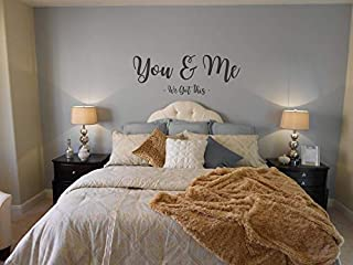 Teisyouhu Wall Stickers Murals You & Me We Got This Lettering Home Decor Wall Art Decal Gift