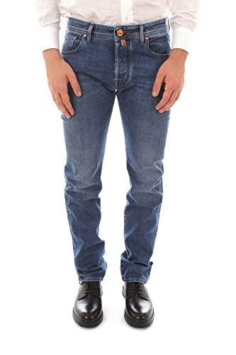 Jacob Cohen Luxury Fashion Uomo 50JCU01J688COMF2 Blu Elastan Jeans | Stagione Outlet