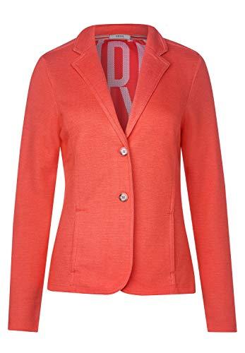 Cecil 253032 Blazer, Color Naranja Jaspeado, M para Mujer
