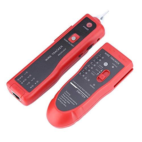 Tihebeyan Network Line Tracker Telefonkabel Tester Detector Line Finder Kabel Tracer für LAN Ethernet RJ45 RJ11