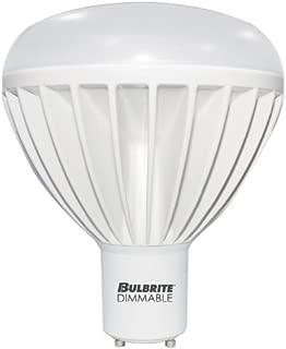Bulbrite LED BR40 Dimmable Twist & Lock Bi-Pin Base (GU24) Light Bulb 120 Watt Equivalent 3000K 1-Pack