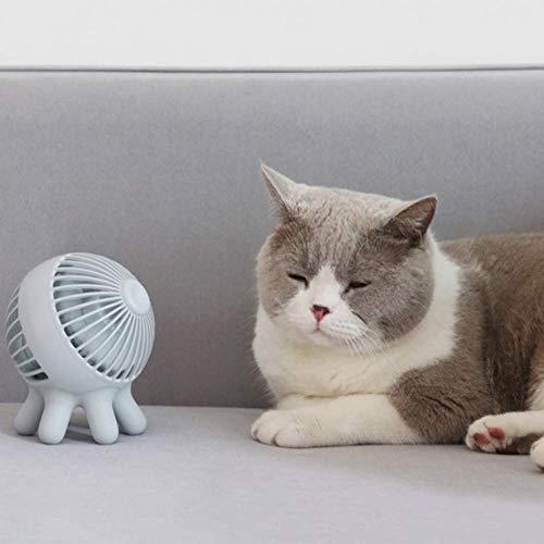 Casco silencioso disipación de calor fresco en verano miniatura pequeño ventilador silencioso ventilador eléctrico a la cabeza del estudiante dormitorio ahorro de energía y eficiente batería vida USB