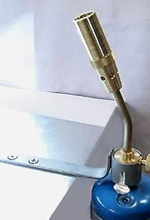Devardi Glass Professional Lampwork Torch Head & Bracket for Hot Beadmaking Glass Rods, COE 104