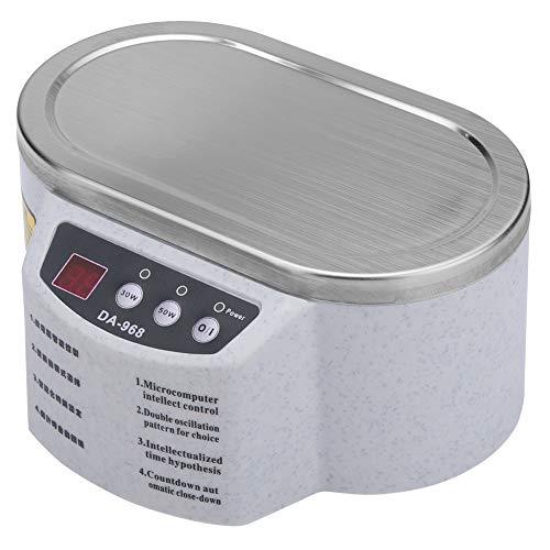 Limpiador Ultrasónico, Acero Inoxidable 600 ml Limpiador Profesional Rápido y Potente de...