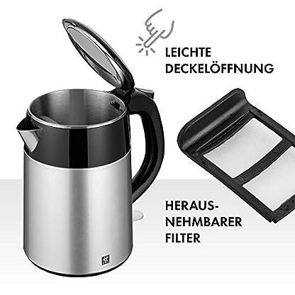 ZWILLING-Wasserkocher-12-Liter-1550-1850-Watt-EdelstahlKunststoff-Schwarz