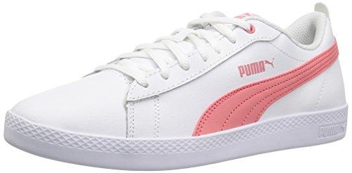 Puma Smash WNS V2 - Zapatillas de Piel para Mujer, Color Blanco, Color, Talla 35.5 EU