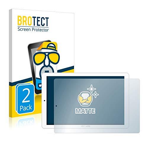 BROTECT 2X Entspiegelungs-Schutzfolie kompatibel mit Archos Core 101 3G V2 (nur Kamera Links) Displayschutz-Folie Matt, Anti-Reflex, Anti-Fingerprint