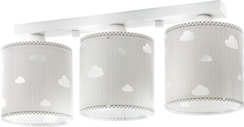 LED Kinderlampe Wolken Wolken Sweet dreams 62013E Warmwei 800lm Mdchen & Jungen Kinderzimmerlampe Deckenlampe