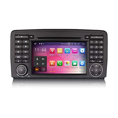 ERISIN 7 pollici Android 10.0 Autoradio Stereo per Mercedes Benz Classe R W251 Supporto GPS Sat Nav Carplay Android Auto Bluetooth A2DP Wifi 4G DAB + RDS Mirror Link TPMS SWC 2 GB RAM + 16 GB ROM