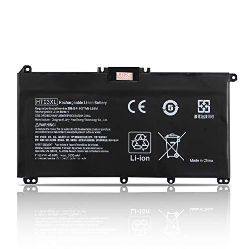 K KYUER HT03XL Batería para HP Pavilion 14-CD 14-CE 14-CF 14-CK 14-CM 14-DH 14Q-CS 14Q-CY 14S-CF 14S-CR 15-CS 15-DA 15-DB 15-DW 15G-DR 17-by 17-CA 240 245 246 250 255 G7 340 348 G5 HSTNN-DB8R LB8L
