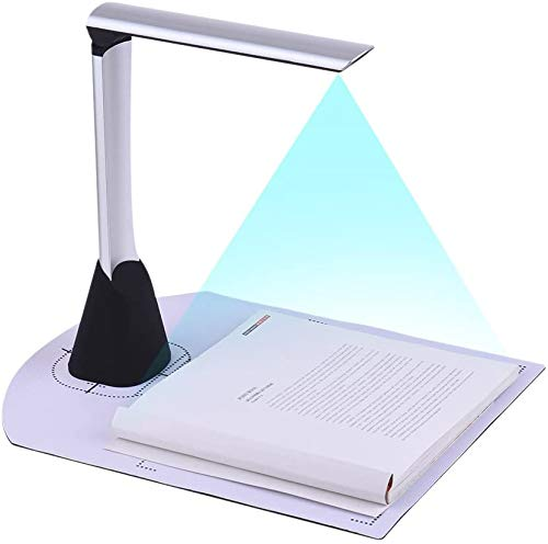 Read About Book & Document Camera,Capture MAX Size A3, Mulit-Language OCR, USB, Overhead Book Scanne...