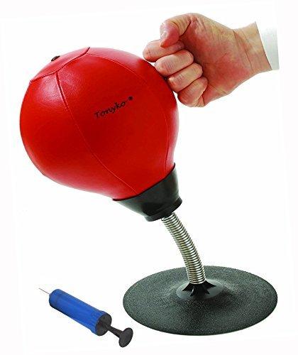 Tonyko® Easy-Installation Desktop-Speed-Punchingball mit Pumpe