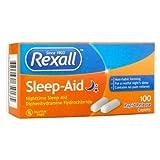 Sleep Aid Rapid Release Caplets, 100 Ct