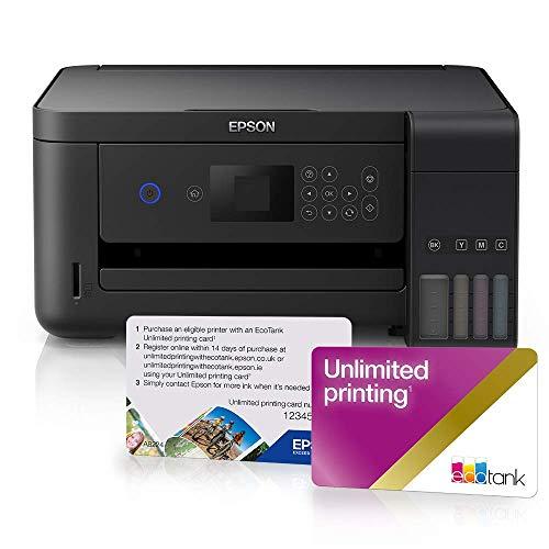 Epson EcoTank ET-2750 Bundle with Unlimited Printing Card
