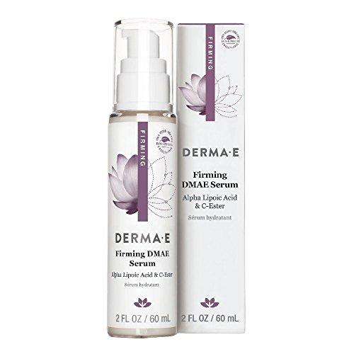derma e DMAE Alpha Lipoic C-Ester Serum, 2 fl oz (60 ml) (Pack of 2) by Derma E