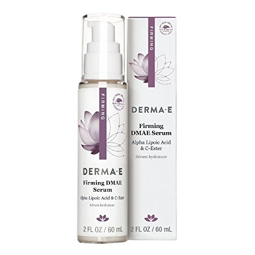 derma e DMAE Alpha Lipoic C-Ester Serum, 2 fl oz (60 ml) (Pack of 2) by Derma E