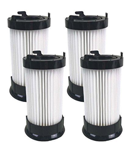 Crucial Vacuum Replacement Vacuum Filter - Compatible with Eureka Part # DCF-4, DCF4, DCF-18, DCF18 - Models 4704BLM, 4702A, 4704BLU, 4704FRD, 4704LMP, 4704LTA 4704ONG, 4704PNK, 4704PUR (4 Pack)