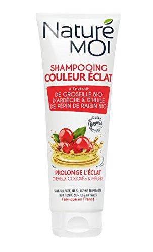 puissant Naturé Moi – Avec un shampooing couleur brillance à l'extrait d'Ardèche de groseille…