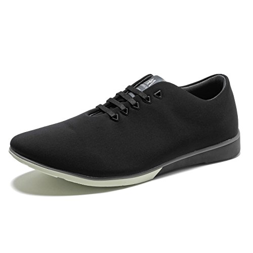 Muroexe Atom Eternal Black, Zapatos de Cordones Derby Unisex Adulto