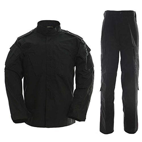 Nobrand 2020 Herren Sicherheits-Uniform taktische Kampfjacke Special Forces Training Armee Uniform Overalls Camouflage Outdoor Sport Gr. L, Farbe6