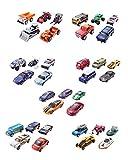 Mattel C1817 - Matchbox, Set regalo 5 macchinine, colori e modelli assortiti